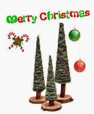 arbolitos-pequeños-navideños-manualidad