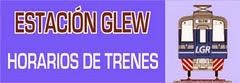 Estación Glew - Horarios de trenes, vigentes desde el 30 de julio de 2011