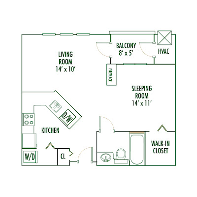 The New Space Here Is The Floor Plan Of Our New Studio Apartment