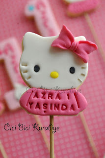 Hello kitty kurabiye