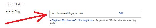 merubah domain, setting domain pada blogger