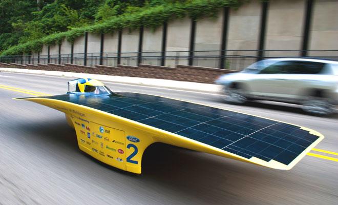 Solar Challenge car