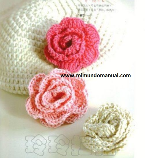 Accesorios para el pelo tejidos a crochet