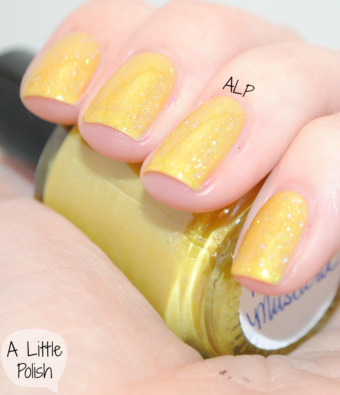 Honey Yellow Nail Polish: A Little Polish: Liquid Lacquer