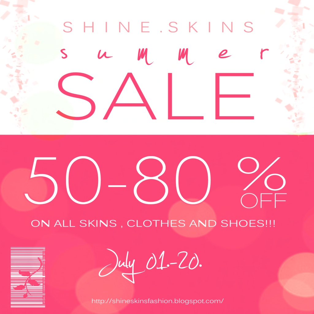 SHINE SUMMER SALE