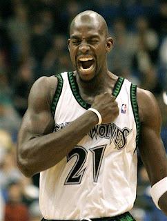 Kevin Garnett en los Timberwolves