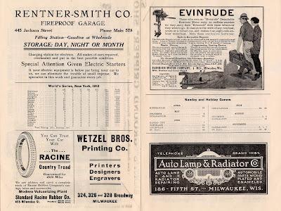 1913 World Series Program
