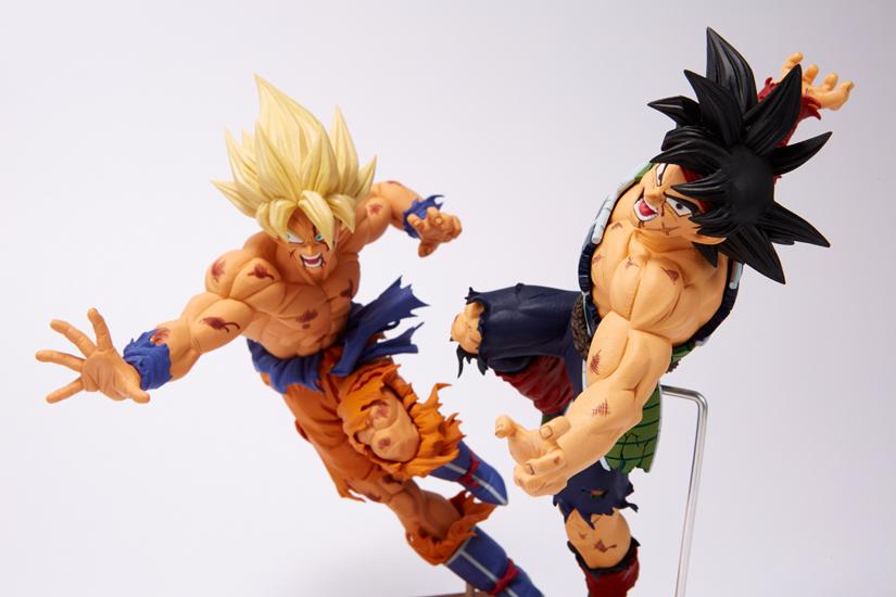 Bardock e Goku SS Colorati dalla Banpresto