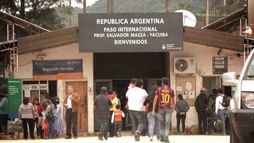 Fronteras al límite: La narcofrontera