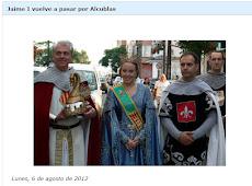 Jaime I vuelve a pasar por Alcublas