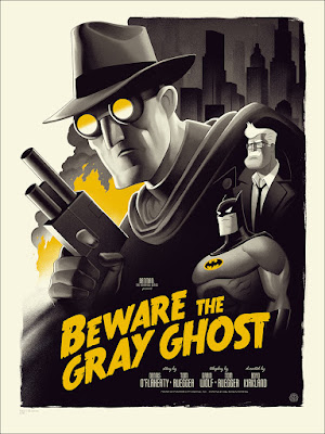"Batman The Animated Series ""Beware the Gray Ghost"" Standard Edition Screen Print by Phantom City Creative & Mondo"