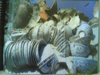 الأوانى الفخارية تحدد طريق التجارة بين الشرق والغرب آثار غارقة