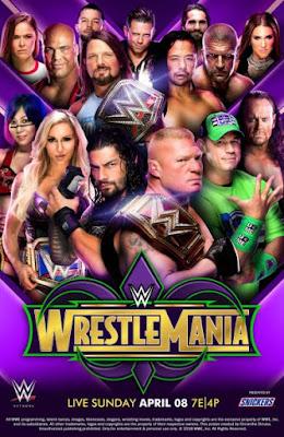 WWE WrestleMania 34 Custom HD Latino