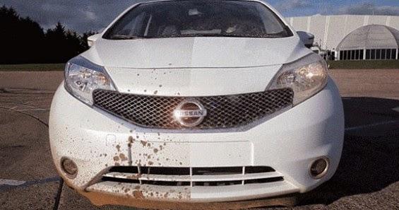 Nissan Memperkenalkan Cat Kenderaan Anti-Kotor!