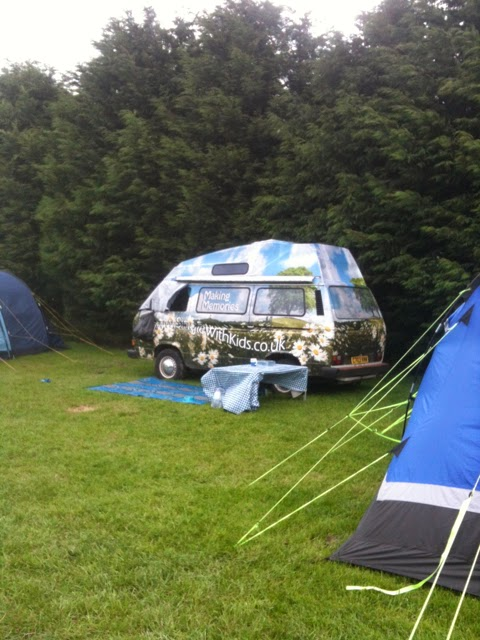 single with kids camper van