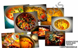 SOUPALICIOUS Mouth-Watering Soups and Sauces