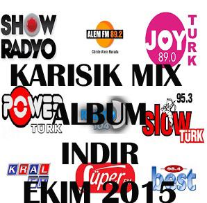 Türkçe Pop Mix Albüm Top 40 İndir 10 Ekim 2015