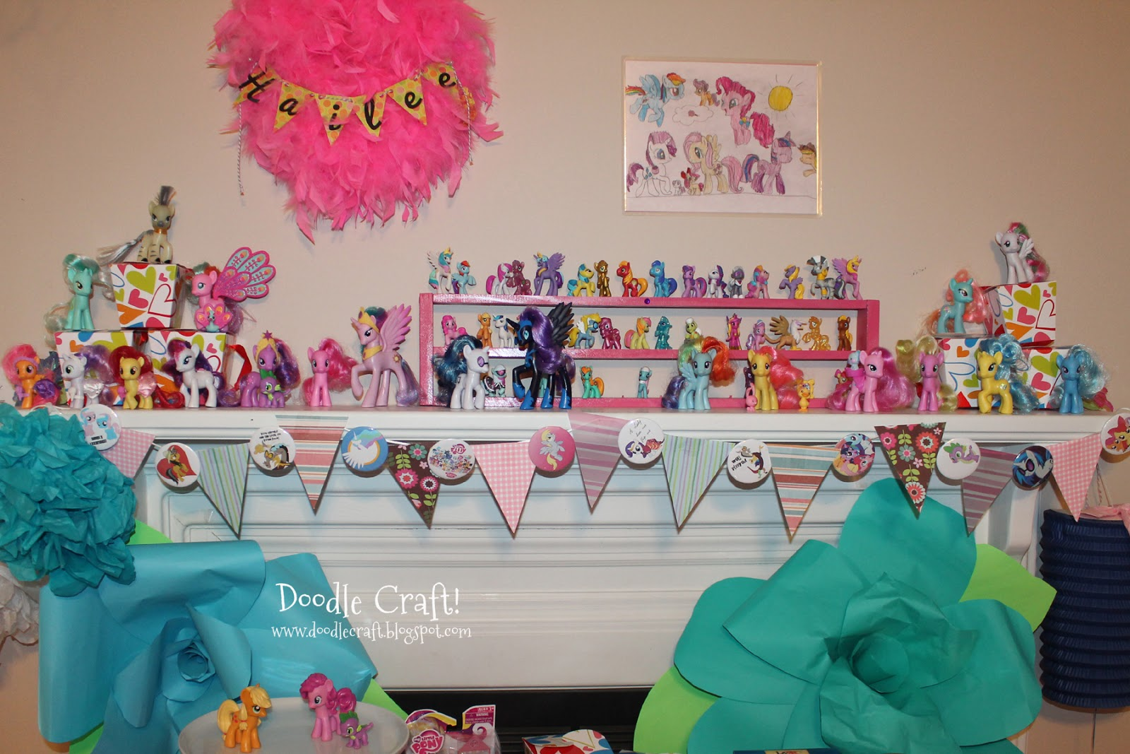 My little pony birthday party crafts - My Little Pony Budget Party And Chocolates