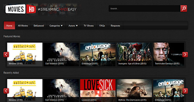 online movie streaming site