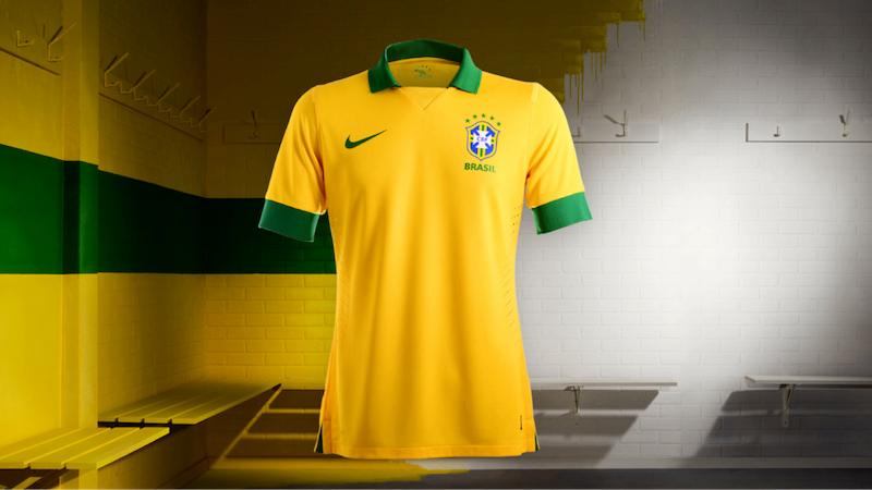 ¡Nueva camiseta de Brasil para la Copa Confederaciones!