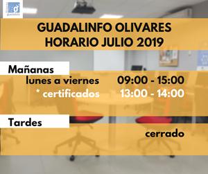 HORARIO JULIO 2019