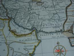 """نقشه بلوچستان خواندن به زبان انگلیسی """"دولت از بلوچ"""""""