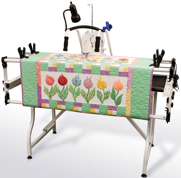 Linda Teddlie Minton: New Grace machine quilting frame