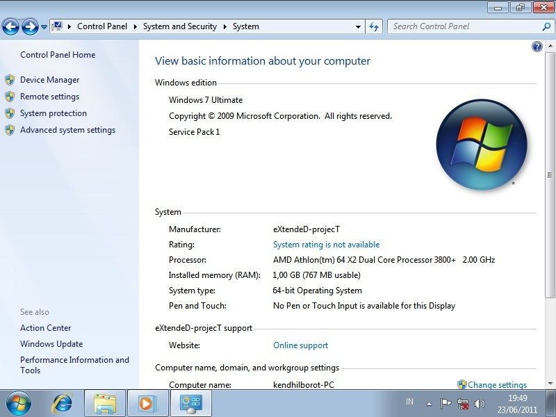 windows 7 full ~ Games For All