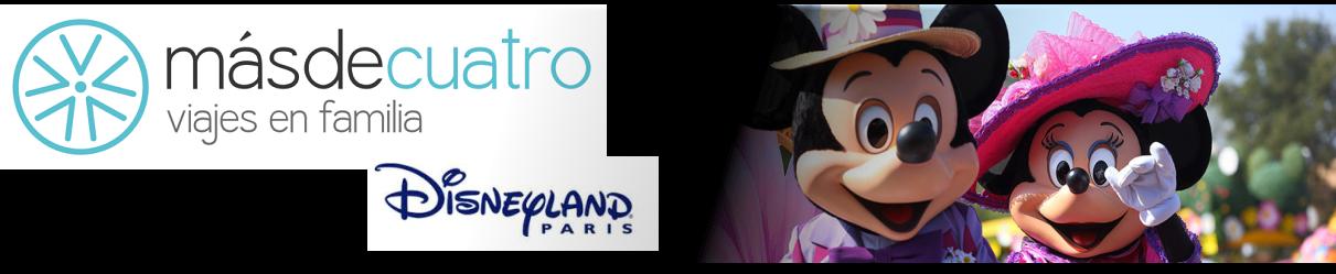 másdecuatro en Disneyland París