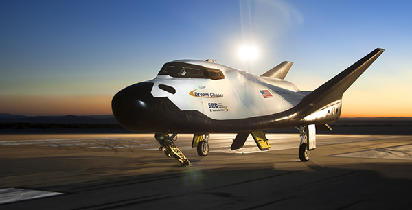 Dream Chaser spacecraft. Credit: SNC/NASA