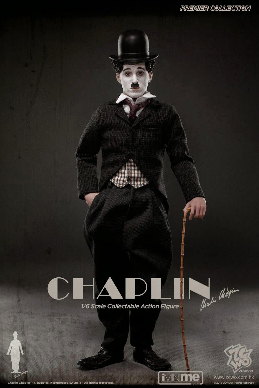 Figura Charlie Chaplin Charlot