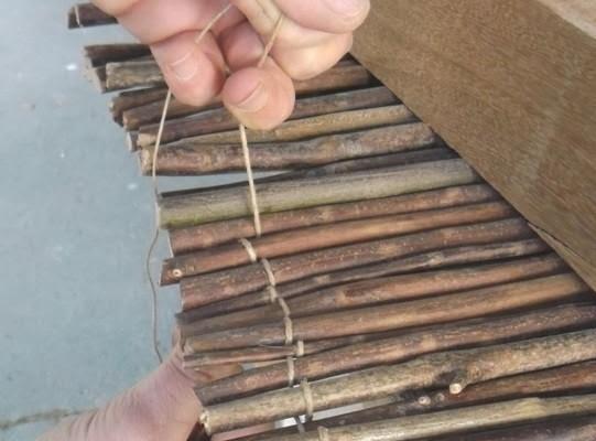 Manos a la obra como hacer macetas con ramas - Hacer manualidades con madera ...