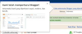 Tampilan Baru Blogger Sudah Launching