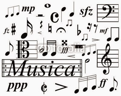 SÍMBOLOS MUSICALES