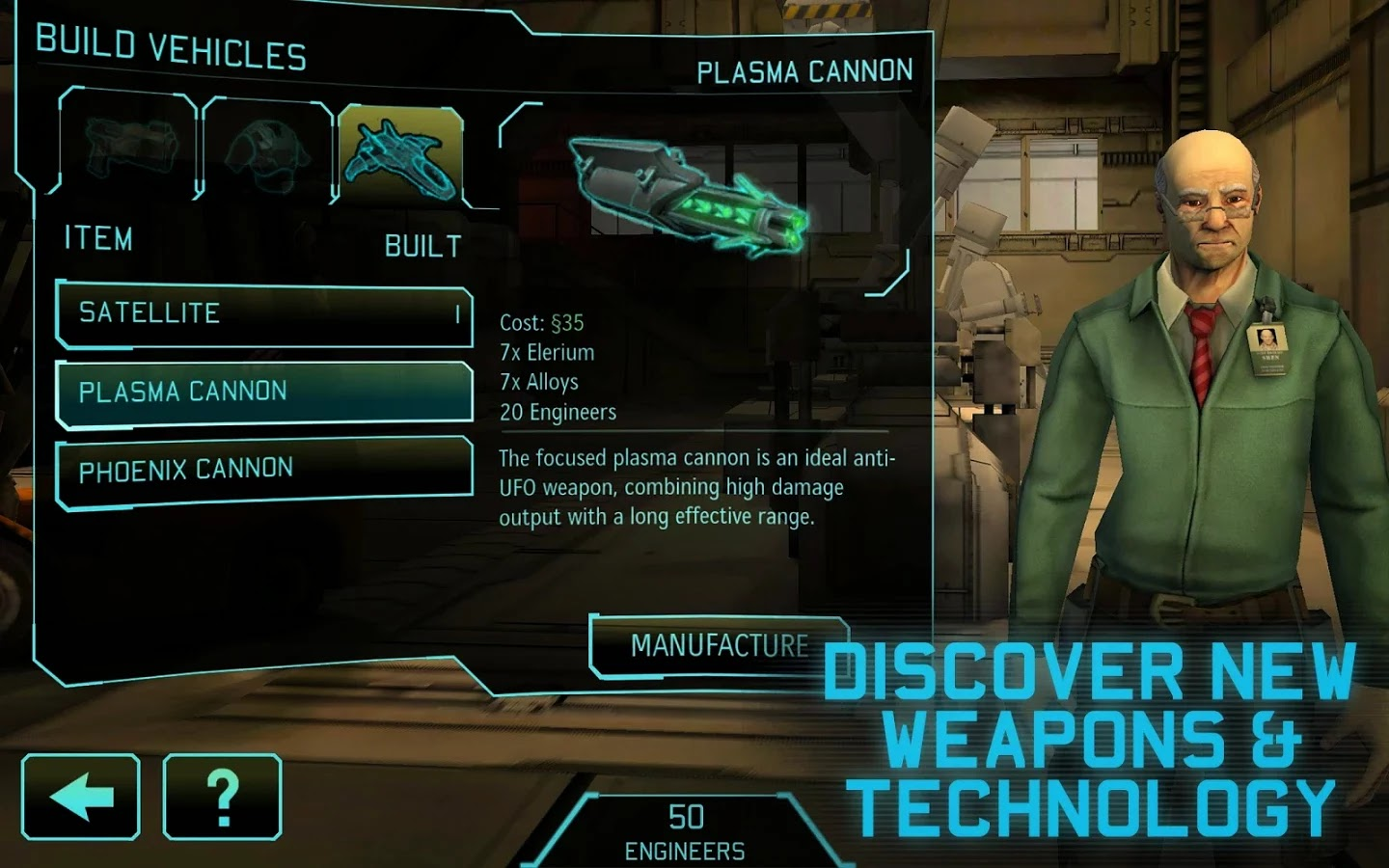 XCOM®: Enemy Unknown Android Oyunu