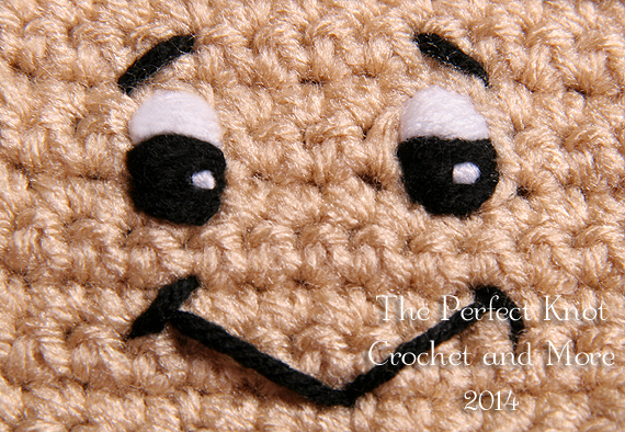 Amigurumi Black Eyes : The Perfect Knot Crochet and More: Adding Character to ...