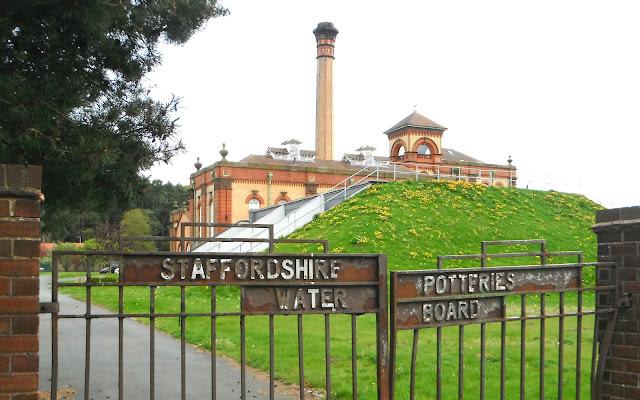 Victorian pumping station at Hatton