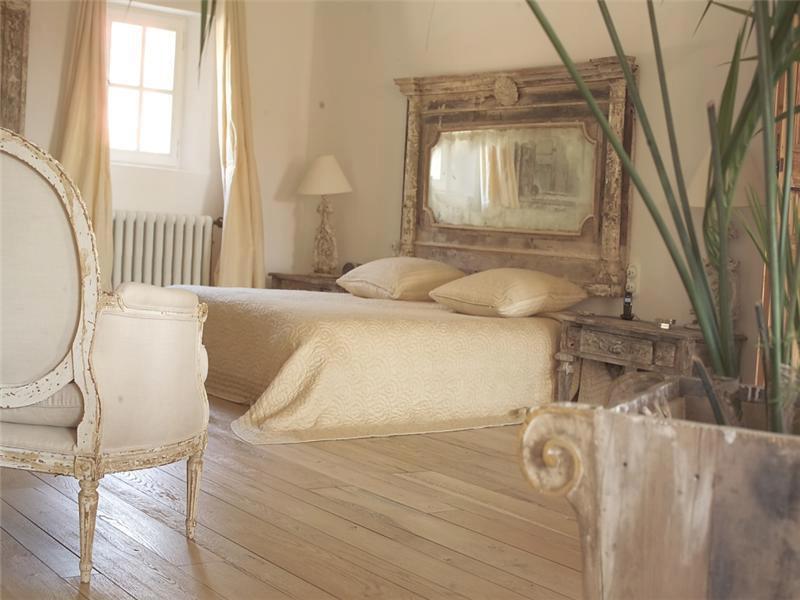 Boiserie c camere da letto bedroom lo stile da una biancheria da sogno - Camere da letto in stile provenzale ...