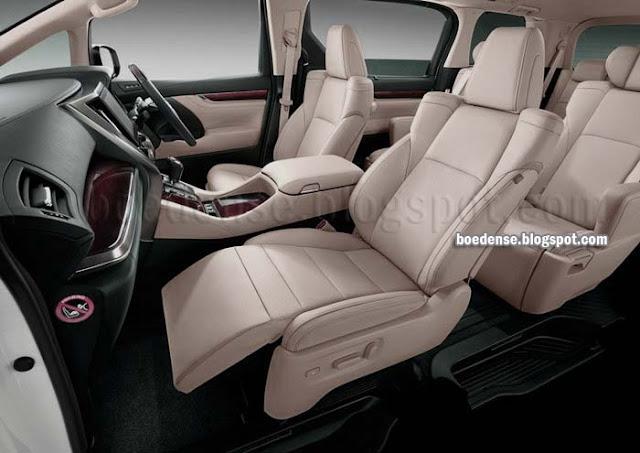 Toyota Innova 2016 interior
