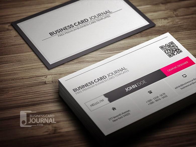 Metro Business Card Template PSD