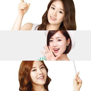 Foto Terbaru Tony Moly ~ T-ara Eunjung, Hyomin & Jiyeon