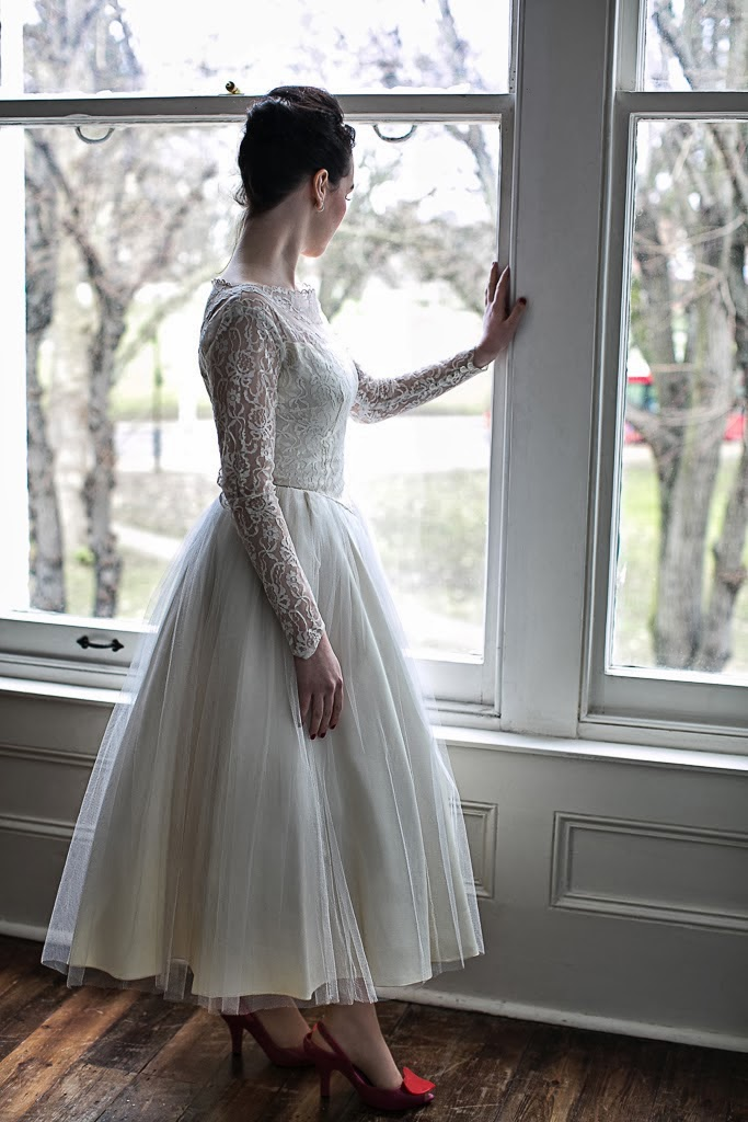 Long Sleeve Ballerina Wedding Dresses
