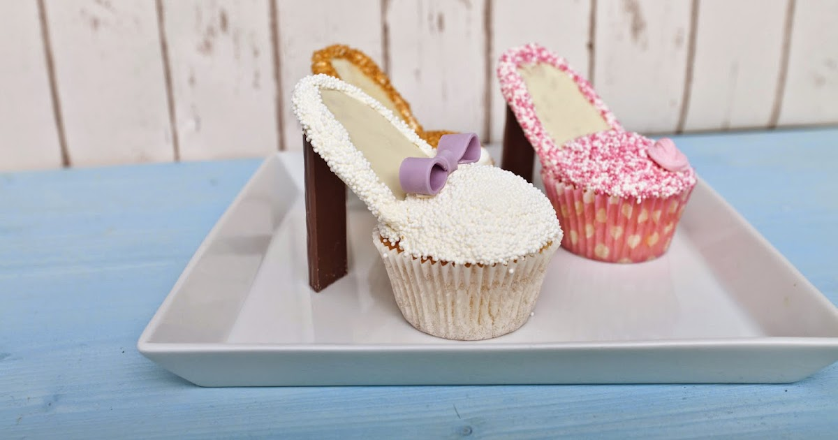 cupcake schuhe mit rezept und tutorial. Black Bedroom Furniture Sets. Home Design Ideas
