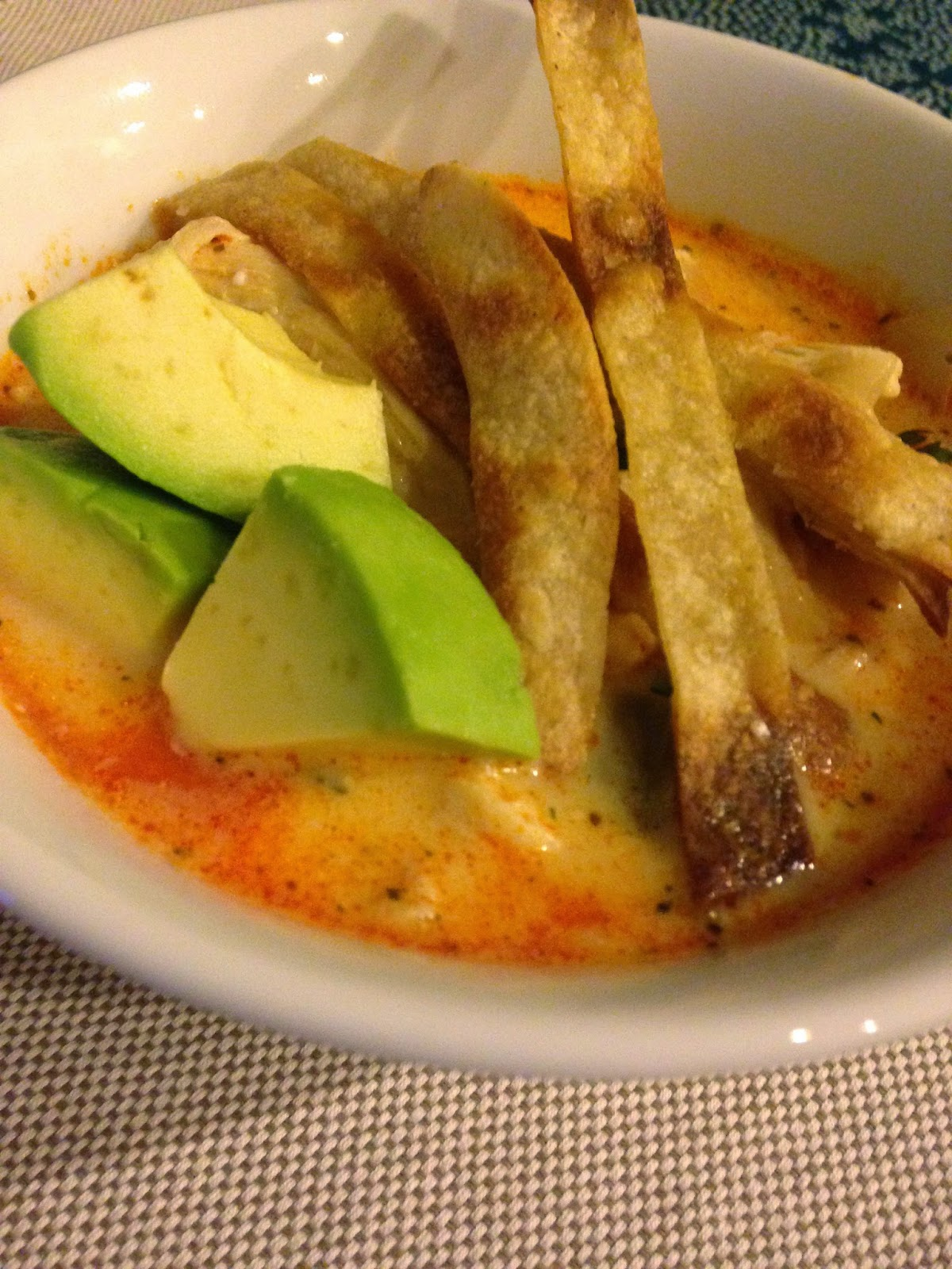 Cooking is CaringBuffalo Chicken Tortilla Soup