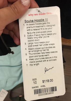 Fit Review: Scuba Hoodie III next to Scuba Hoodie II
