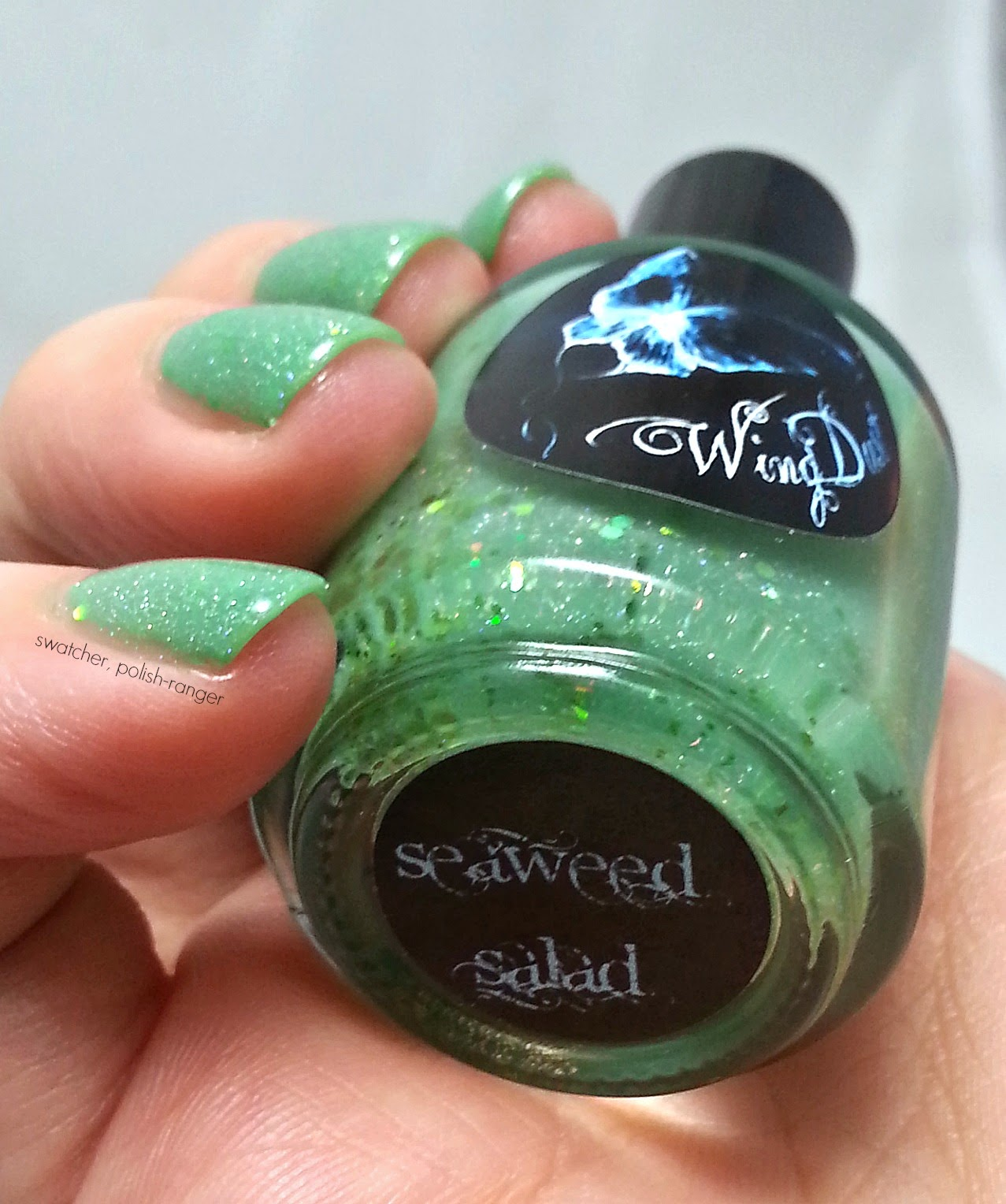 Wingdust Collections Seaweed Salad swatch