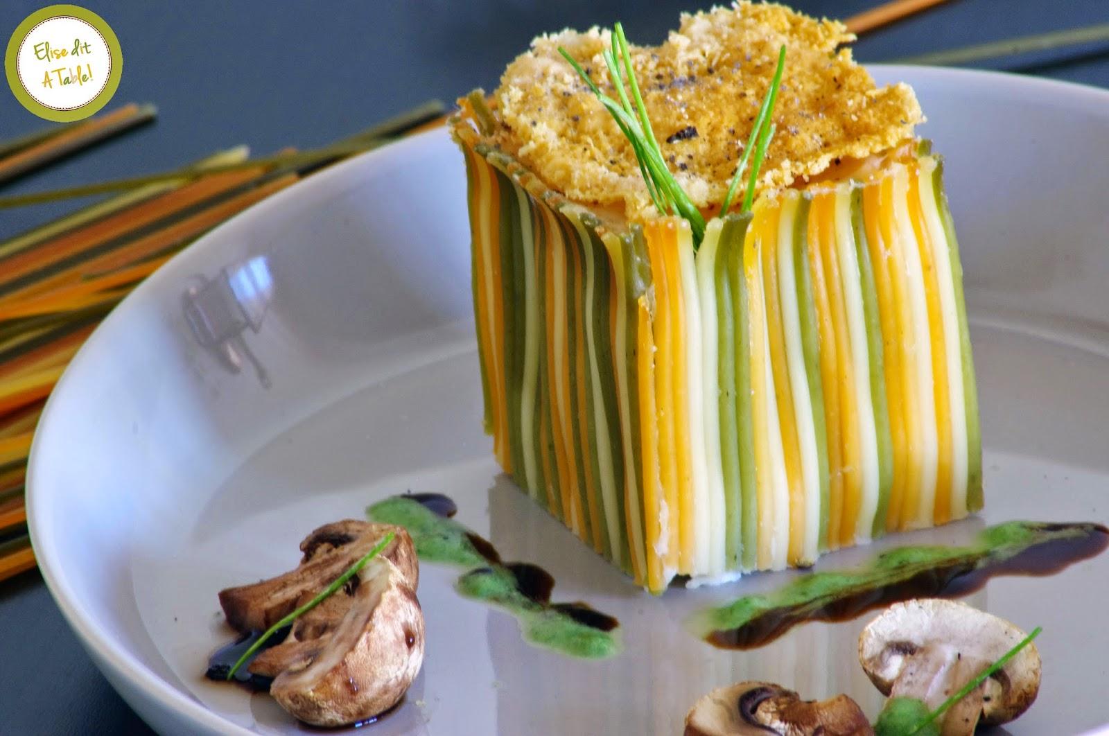 recette spaghettis surprises