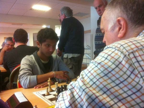 Échecs : Fahim Mohammad à Vincennes  - Photo © Chess & Strategy