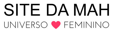 Site da Mah - Mundo Feminino Online