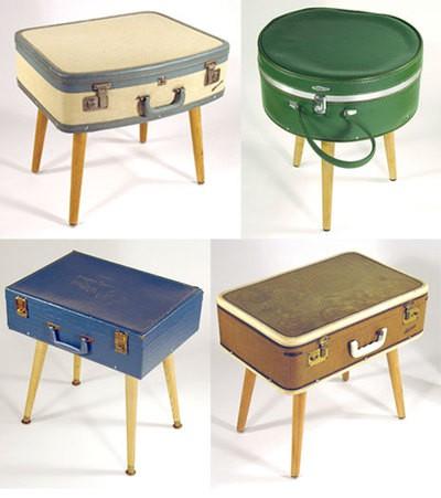 decorating+style+with+old+suitcases - Geri D�n���m Fikirleri